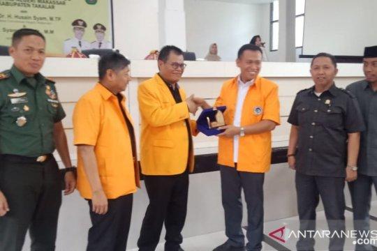 Rektor UNM kunjungan supervisi KKN di Kabupaten Takalar