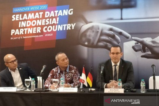 Pengusaha Indonesia diundang pameran teknologi Hannover Messe 2020