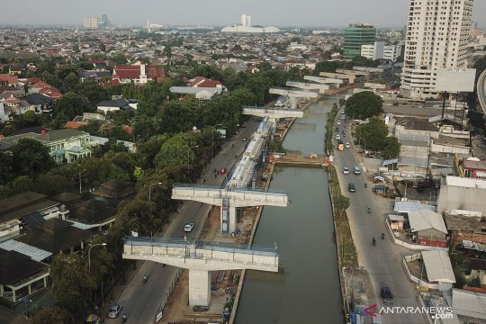 Proyek pembangunan tol Becakayu seksi II A