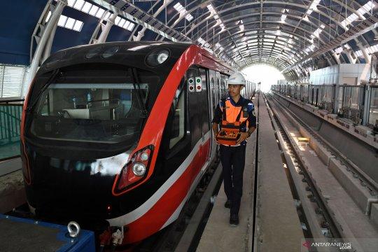 Target pengoperasian LRT Jabodebek
