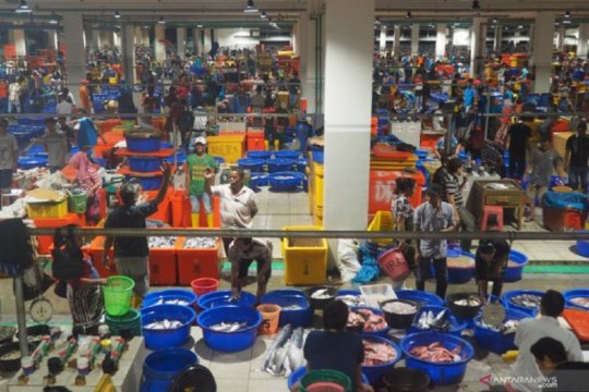Ombudsman RI tinjau pengelolaan Pasar Ikan Modern Muara Baru
