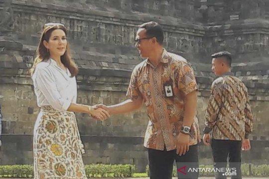 Pengunjung Candi Borobudur baru 70 persen dari target