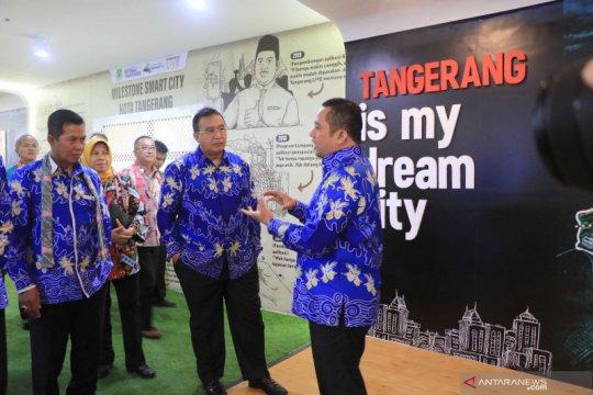 Arief kenalkan sejarah Kota Tangerang ke rombongan Apeksi