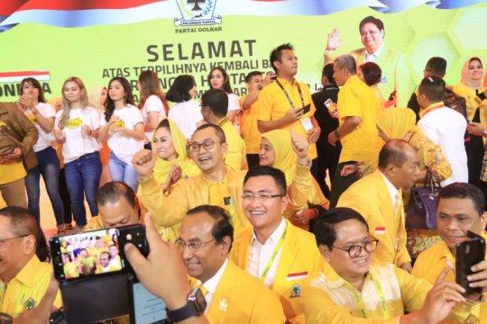 Airlangga Terpilih Lagi, Andika Siap Amankan Kebijakan DPP Golkar