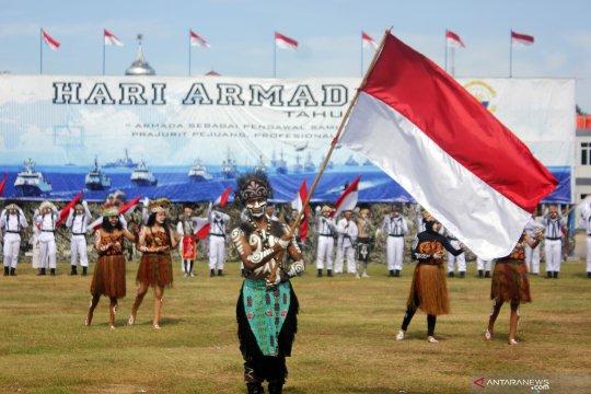 Peringatan Hari Armada di Papua