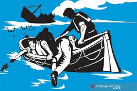 Satu kapal tenggelam di Pukuafu, dua penumpang ditemukan meninggal