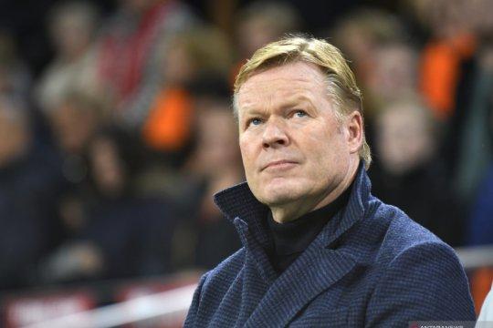 Masih latih Belanda, Koeman tidak nyaman dikaitkan dengan Barcelona