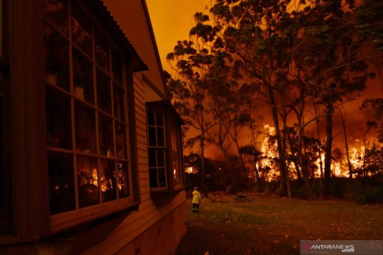 Petugas pemadam Australia peringatkan soal kebakaran tak terkendali