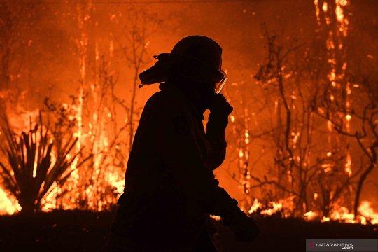 Australia beri penghormatan terakhir kepada pemadam kebakaran