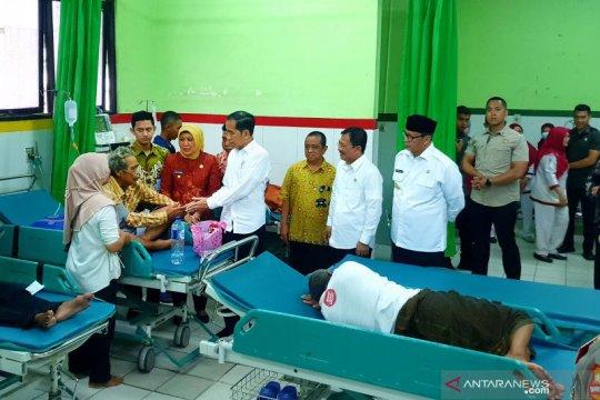 Jokowi sidak pemanfaatan BPJS Kesehatan RSUD Cilegon