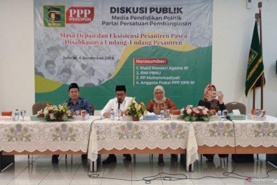 Wamen Agama: Pesantren miliki tiga ciri khas pendidikan