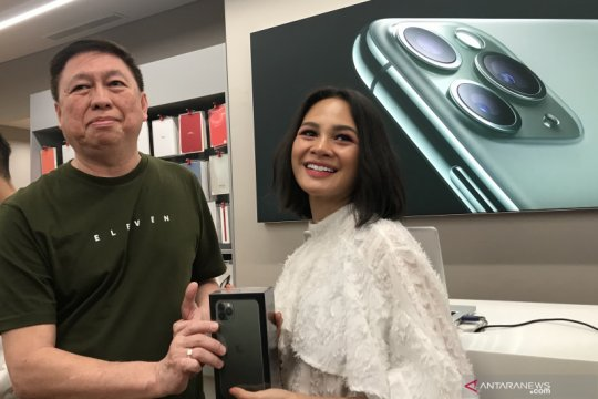 Alasan Andien pilih iPhone 11 Pro