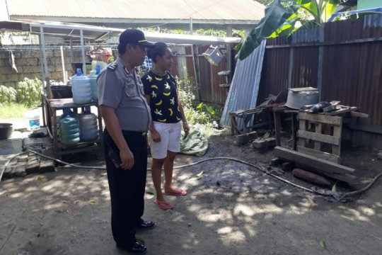 Anggota Polres Jayapura temukan mortir di dekat rumahnya