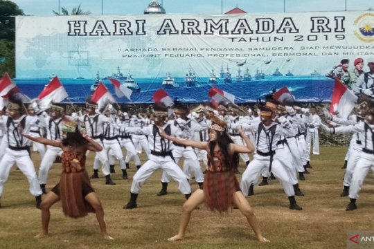 Armada lll TNI AL jaga kedaulatan NKRI di wilayah Timur