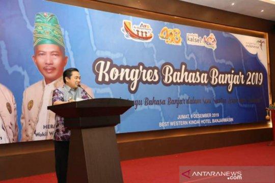 Kongres bahasa Banjar pertama digelar di Banjarmasin