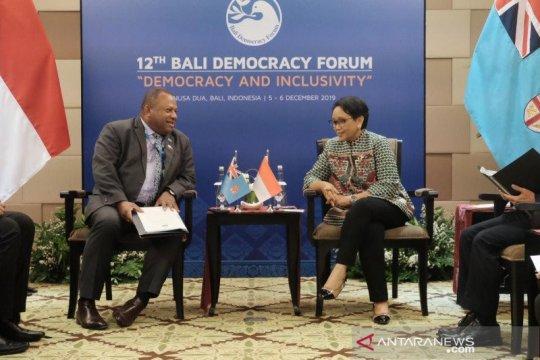 Indonesia, Fiji sepakat majukan kerja sama ekonomi di Pasifik