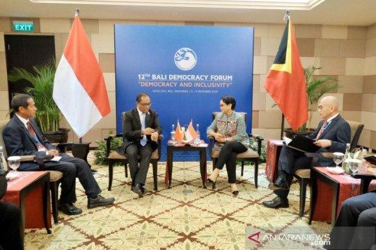 Menlu RI-Timor Leste bahas kerja sama di wilayah perbatasan
