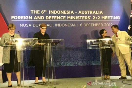 """Pertemuan """"2+2"""" dengan Australia, Menlu RI sampaikan tujuh poin utama"""