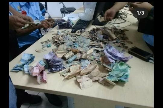 Pria gangguan jiwa miliki uang jutaan rupiah di Tambora