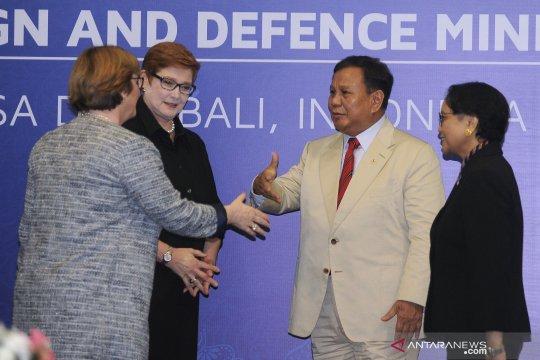 Menlu, menhan Indonesia-Australia akan bertemu di Jakarta