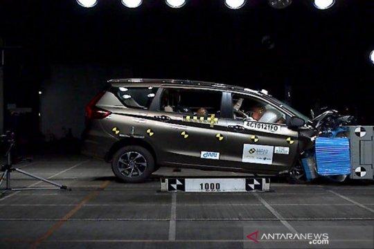 Berapa peringkat uji tabrak ASEAN NCAP untuk Suzuki Ertiga 2019?
