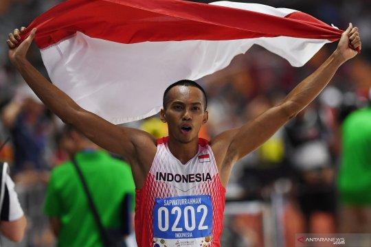 Atlet lompat jauh putra Indonesia sabet medali emas SEA Games 2019