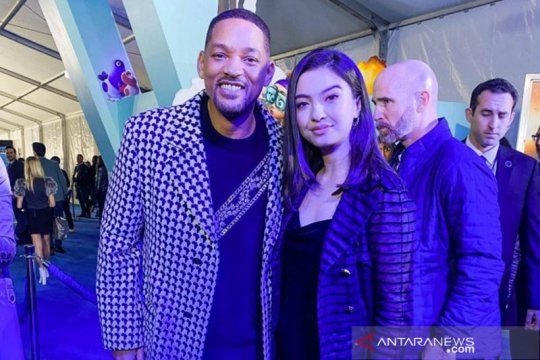 """Raline Shah nonton """"Spies in Disguise"""" bareng Will Smith"""