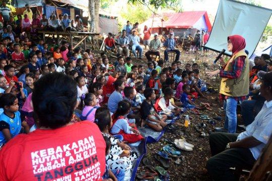BNPB - BPBD Maluku sosialiasi mitigasi dan penanganan dampak gempa