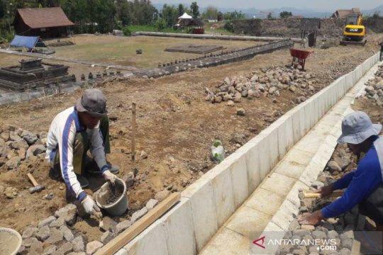 BPCB bangun drainase sekitar Situs Liyangan