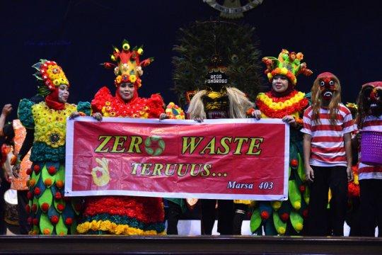 "84 sekolah di Surabaya dinyatakan ""zero waste"""