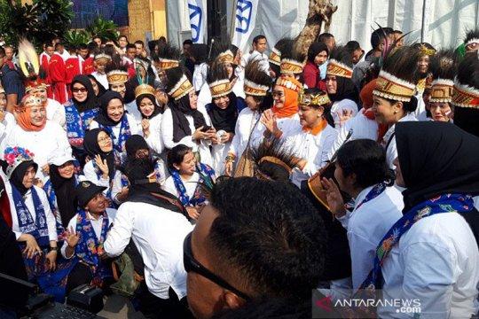 Iriana Joko Widodo hadiri jalan sehat peringati Hari Ibu