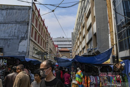 PKL Pasar Senen dipindahkan ke Pasar Baru