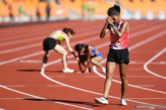 Odekta raih perunggu 10.000 meter putri, Triyaningsih gagal