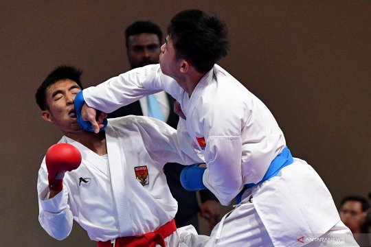 Indonesia tambah dua medali SEA Games 2019 dari karate