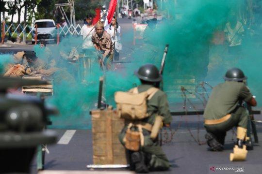 Teatrikal pertempuran Mulyorejo