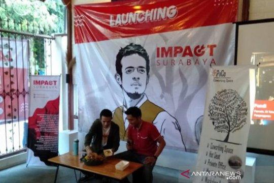 Gamal Albinsaid meresmikan Impact di Kota Surabaya