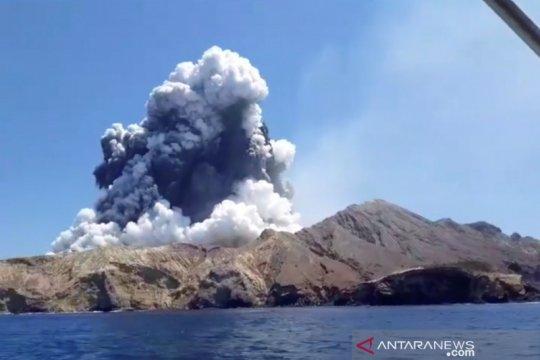 Ibu dan putrinya jadi korban letusan gunung berapi di Selandia Baru