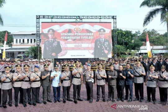 Polres Bandung naik status menjadi setingkat Polresta