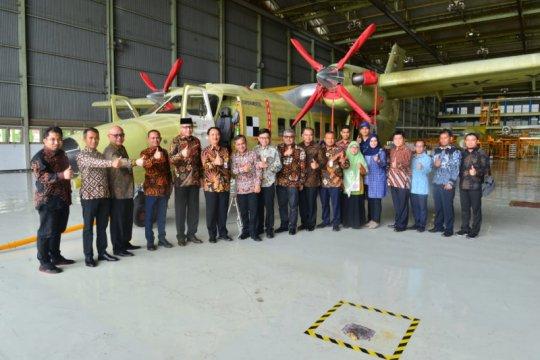 PTDI-Pemprov Aceh teken MoU pembelian pesawat terbang N219