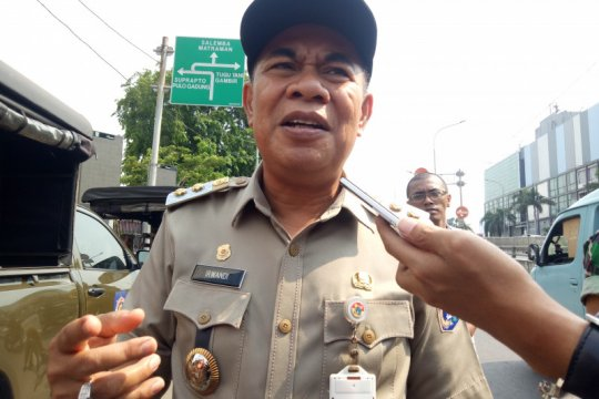 Pemkot Jakpus: Penjagaan trotoar Senen bukan penggusuran tapi relokasi
