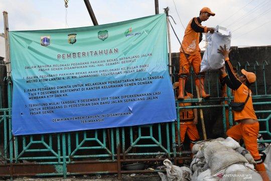 Kasatpol PP Jaksel bantah ada kericuhan penertiban Pasar Pondok Labu