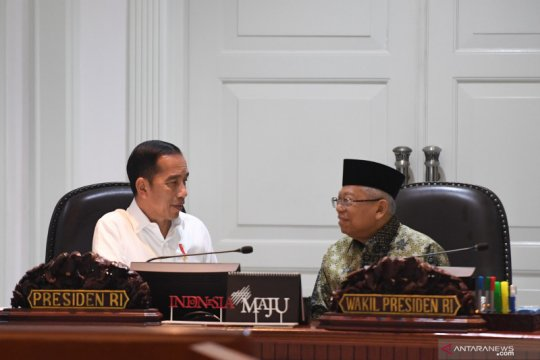 Survei: 61,4 persen masyarakat puas kinerja 100 hari Jokowi-Ma'ruf