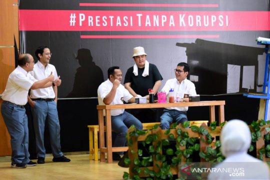 Pesan antikorupsi dalam komedi ala menteri Jokowi