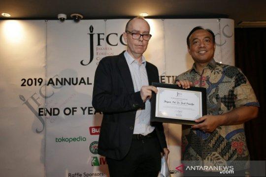 Brigjen Pol Dedi Prasetyo terima penghargaan JFCC Award 2019