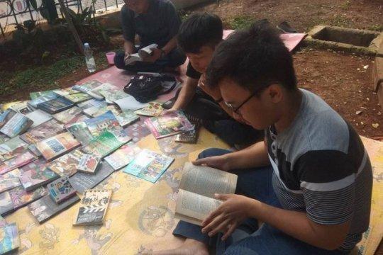 Taman buku dongkrak minat membaca anak Rangkas