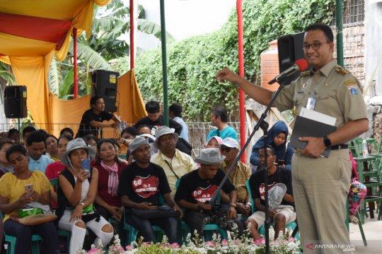 Anies sebut separuh penduduk Jakarta bukan pemilik rumah