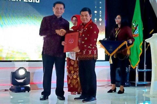 Barito Timur terima penghargaan daerah peduli hukum dan HAM