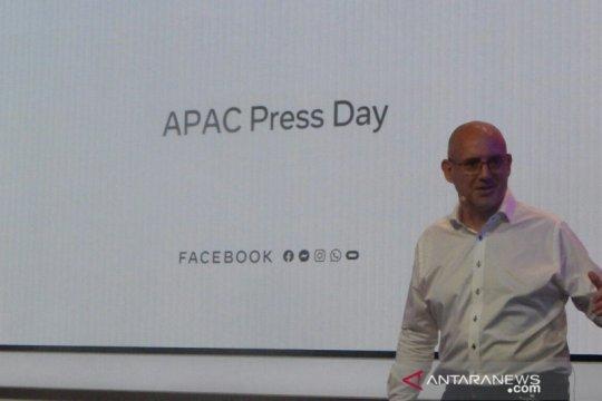 Pengguna Facebook di kawasan Asia Pasifik terus meningkat