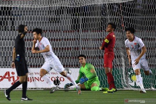 Indonesia gagal raih medali emas sepak bola, takluk 0-3 dari Vietnam