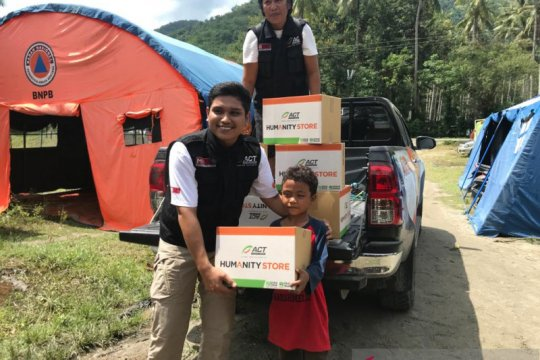 ACT salurkan bantuan korban banjir bandang Desa Poi Kabupaten Sigi